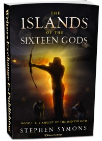 The Islands of the Sixteen Gods, Book 1: The Amulet of the Hunter God 3d cover