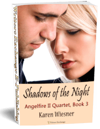 Angelfire II Quartet, Book 3: Shadows of the Night 3d cover