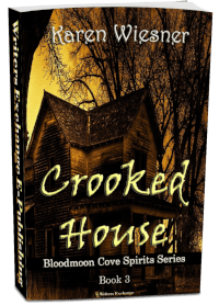 Bloodmoon Cove Spirits Series, Book 3: Crooked House 3d cover