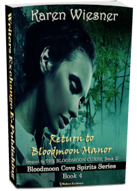 Bloodmoon Cove Spirits Series, Book 4: Return to Bloodmoon Manor 3d cover