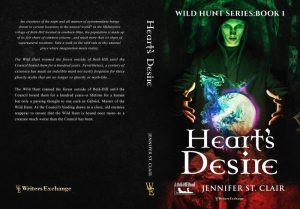 Heart's Desire's Print Book cover
