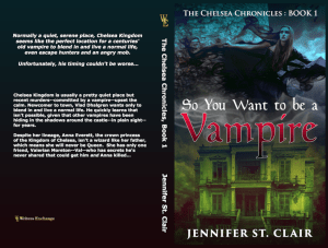 So You Want to be a Vampire Print Cover
