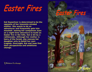Easter Fires Print cover