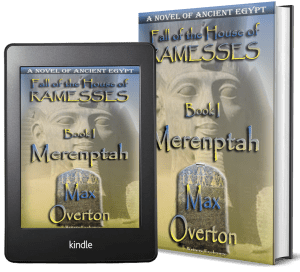 Fall of the House of Ramesses, Book 1: Merenptah covers