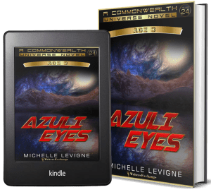 Commonwealth Universe, Age 3: Volume 24: Azuli Eyes 2 covers