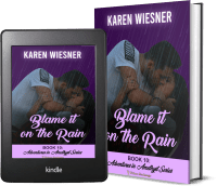 Adventures in Amethyst Series, Book 10: Blame it on the Rain 2 covers