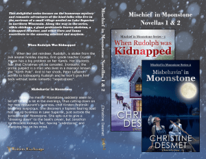 Mischief in Moonstone books 1 and 2 print cover