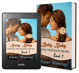 Family Heirlooms Series, Book 1: Baby, Baby 2 covers
