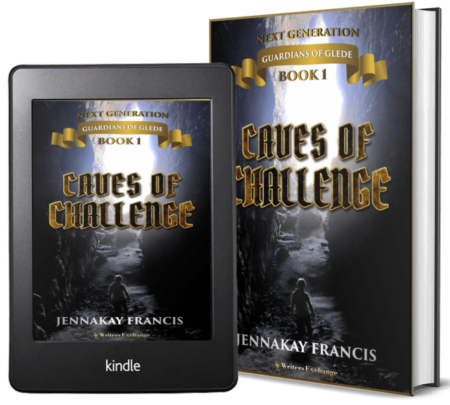 Guardians of Glede: Next Generation Book 1: Caves of Challenge 2 covers