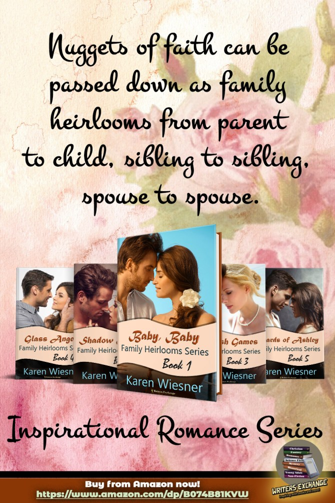 Family Heirlooms Series cover blurb