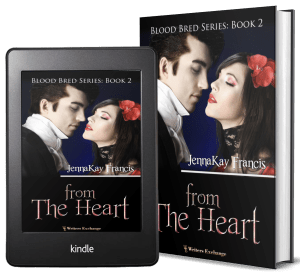 Blood Bred Series, Book 2: From the Heart 2 covers
