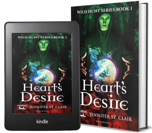 A Beth-Hill Novel: Wild Hunt Series, Book 1: Heart's Desire 2 covers