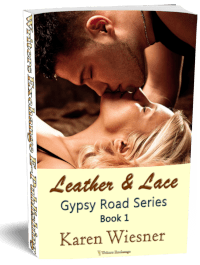 Gypsy Road Series, Book 1: Leather & Lace 3d cover