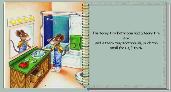 Teeny Tiny Mouse page 2