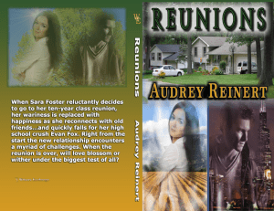 Reunions Print cover