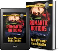 Falcon's Bend Series, Book 4: Romantic Notions covers
