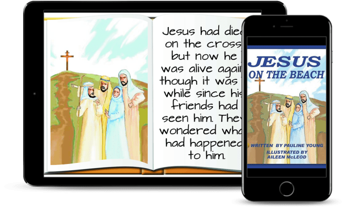 Jesus on the Beach interior and cover