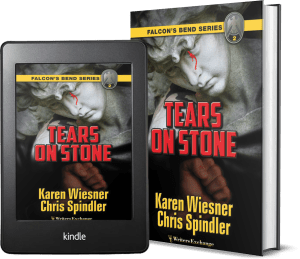 Falcon's Bend Series, Book 2: Tears on Stone covers
