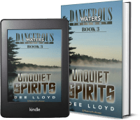 Dangerous Waters Trilogy, Book 3: Unquiet Spirits covers