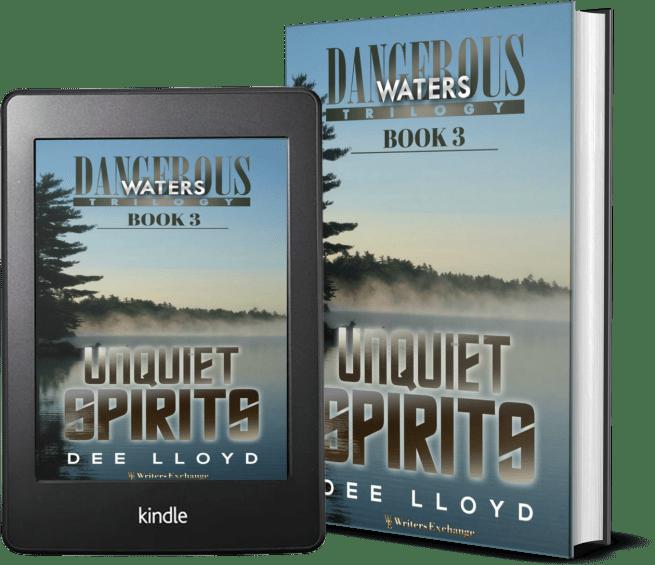 Dangerous Waters Trilogy, Book 3: Unquiet Spirits covers