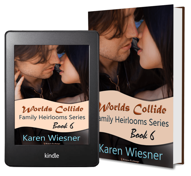 Family Heirlooms Series, Book 6: Worlds Collide 2 covers