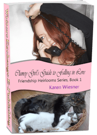 Friendship Heirlooms Series, Book 1: Clumsy Girl's Guide to Falling 3d cover