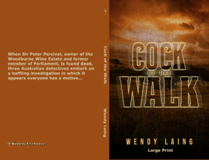 Cock of the Walk Print Cover