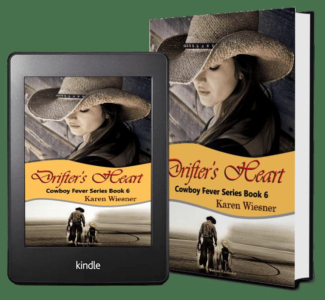 Cowboy Fever Series, Book 6: Drifter's Heart 2 covers