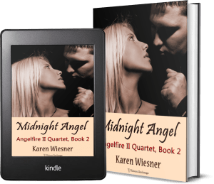 Angelfire II Quartet, Book 2: Midnight Angel 2 covers