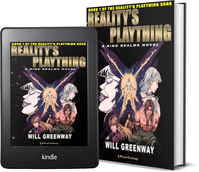 A Ring Realms Novel: Reality's Plaything Saga Book 1: Reality's Plaything 2 covers