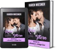 Adventures in Amethyst Series, Book 6: Rose and Thorn 2 covers