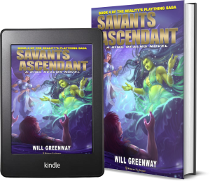 A Ring Realms Novel: Reality's Plaything Saga Book 4: Savants Ascendant 2 covers