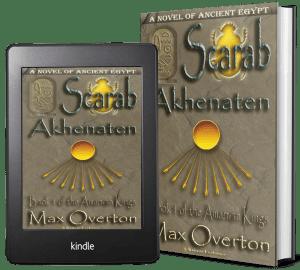The Amarnan Kings, Book 1: Scarab-Akhenaten 2 covers