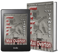 Strong is the Ma'at of Re, A Novel of Ancient Egypt: Book 3: The One of Taweret 2 covers