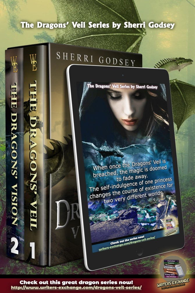 The Dragons' Veil Series Pinterest Boxed Set