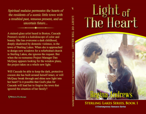 Sterling Lakes Series, Book 1: Light of the Heart