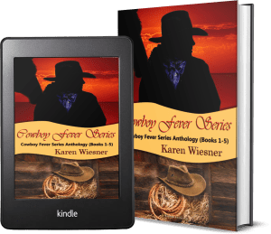Cowboy Fever Series Collection, Volume I (Novellas 1 - 5) 2 covers