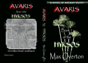 Hyksos Series, Book 1: Avaris, A Novel of Ancient Egypt print cover