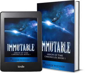 Arrow of Time Chronicles, Book 1: Immutable 2 covers