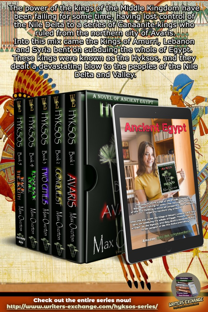 Hyksos Series Boxed set with blurb (vertical)