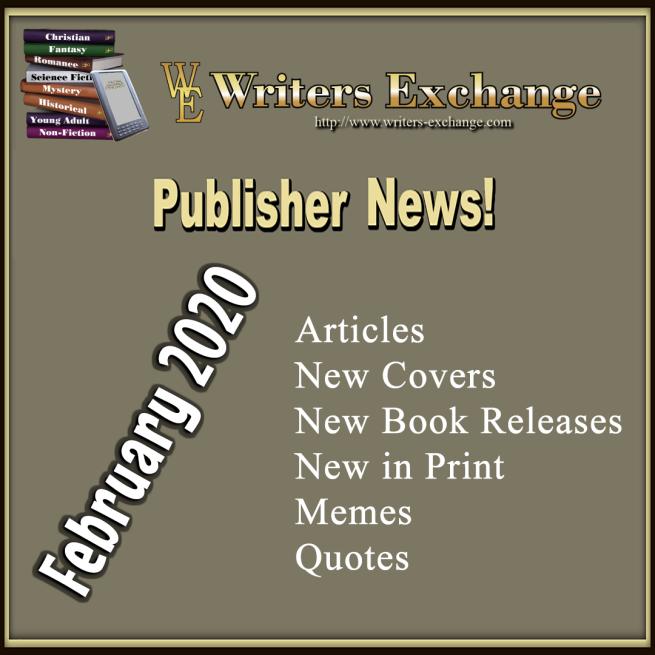Publisher News: February 2020