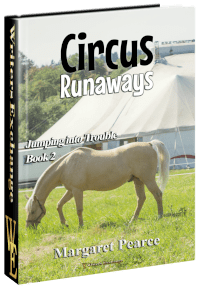 Jumping Into Trouble Series Book 2: Circus Runaways 3d cover