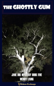 Jane Doe Mystery, Book 5: The Ghostly Gum 200 cover