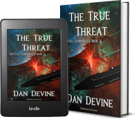The Cull Chronicles Book 3: The True Threat 2 covers