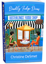 Fudge Shop Mystery Series, Book 1: Deadly Fudge Divas 3d cover