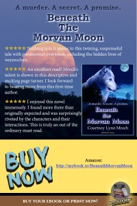 Book Review Quote for Beneath a Morvan Moon by Courtney Mroch