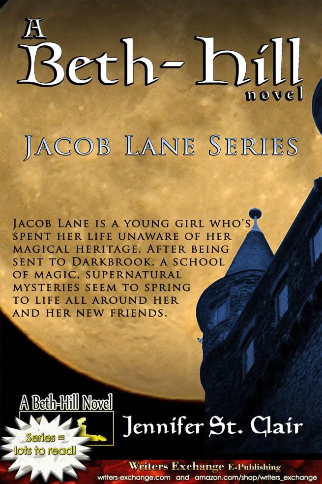 A Beth-Hill Novel: Jacob Lane Series by Jennifer St. Clair Series Cover