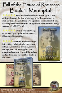 Book Reviews Quotes for Fall of the House of Ramesses, Book 1: Merenptah by Max Overton