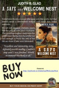 Book Review Quotes for A Safe and Welcome Nest by Judith B. Glad