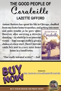 Book Review for The Good People of Coralville by Lazette Gifford vertical graphic
